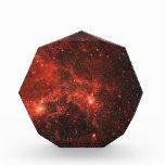 Premio de acrílico del octágono de la nebulosa de