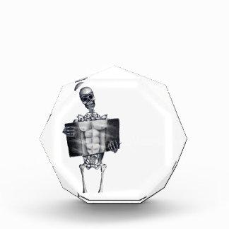 Premio de acrílico esquelético de la radiografía d
