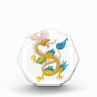 Premio de encargo del dragón de la moda del oro