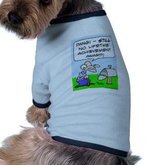 premio de éxito de toda una vida camisetas de perrito
