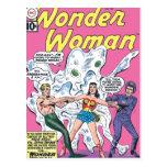 Premio de la batalla de la Mujer Maravilla Tarjetas Postales