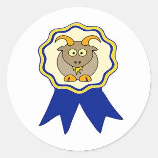 Premio de la CABRA Pegatina Redonda