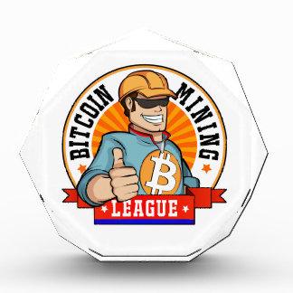 Premio de la liga de la explotación minera de