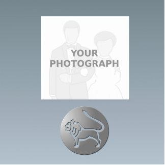 Premio de la plata de la muestra de la estrella fotoescultura vertical