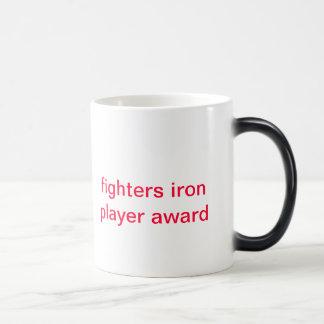 premio de la taza del jugador del hierro de los co