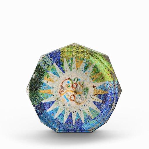 Premio de los mosaicos de Guell del parque