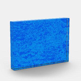 Premio de mármol del fondo del azul y de la