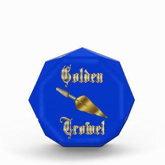 Premio de oro de la paleta
