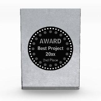 Premio de plata gráfico de Personalizable