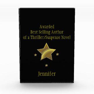 """Premio de /Suspense del """"autor superventas"""":"""
