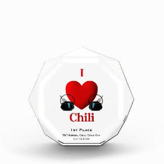 Premio del autodisparo del chile
