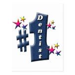 Premio del dentista tarjeta postal