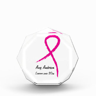Premio del superviviente de la cinta del rosa del