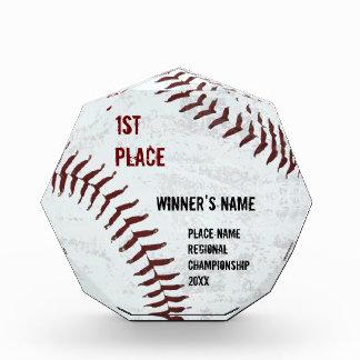 Premio diseñado vintage de la bola del béisbol