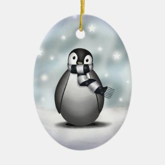 Premio Emmy el pingüino de emperador - ornamento Ornamento Para Arbol De Navidad