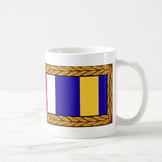 Premio meritorio común de la citación de unidad de taza de café