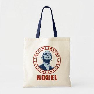 Premio Nobel de la Paz del vintage de Obama Bolsas De Mano