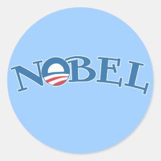 Premio Nobel de la Paz Nobel Obama Etiqueta