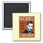 Premio Nobel de la Paz Obama Iman De Frigorífico