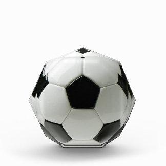 Premio octagonal del balón de fútbol