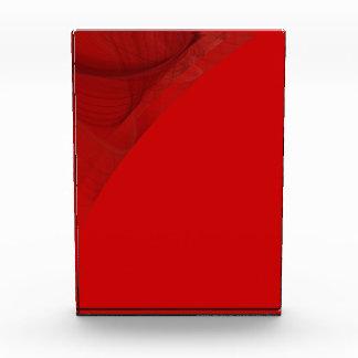 Premio rojo elegante del fondo de la frontera del