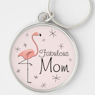 """Premio rosado del llavero de la """"mamá fabulosa"""""""