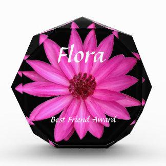 Premio rosado púrpura violeta del mejor amigo de l
