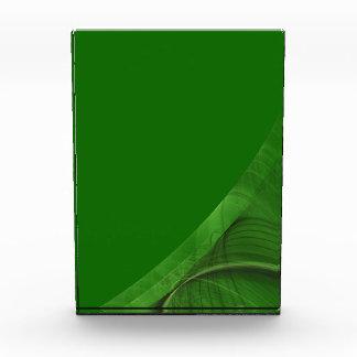Premio verde elegante del fondo de la frontera del