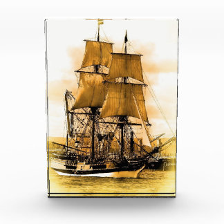 Premio vertical del bloque del barco pirata 2