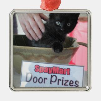 Premios de la puerta - estilo de Spaymart Adorno Navideño Cuadrado De Metal