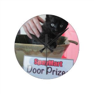 Premios de la puerta - estilo de Spaymart Reloj Redondo Mediano