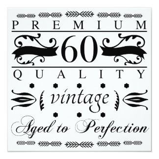 Premium 60th Birthday Card