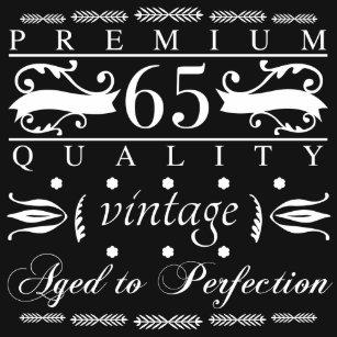 Premium 65th Birthday T Shirt