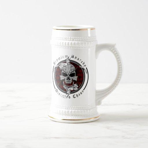 Premium Anarchy 18 Oz Beer Stein