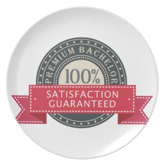 Premium Bachelor Melamine Plate