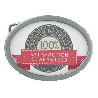 Premium Bachelor Oval Belt Buckle