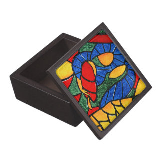 Premium Christmas Gift Box Colorful Holy Family Premium Trinket Boxes
