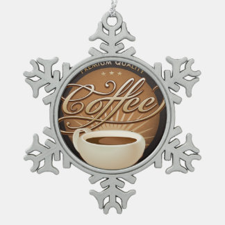 Premium Coffee and Coffee Cup Ornament