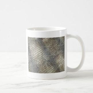 PREMIUM CROC LEATHER TEXTURE COFFEE MUG