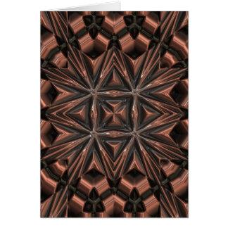 Premium design copper ornament card