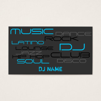 PREMIUM DJ Business Card