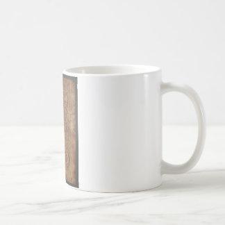 PREMIUM EMBOSSED LEATHER COFFEE MUG