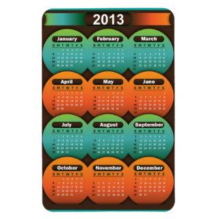 Premium Flexi Magnet Calendar 2013
