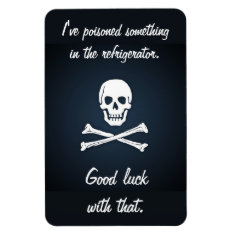Premium Flexi Magnet (poison) at Zazzle