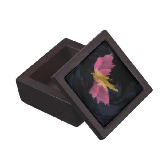 Premium Gift Box, Midnight Flight Watercolor Keepsake Box