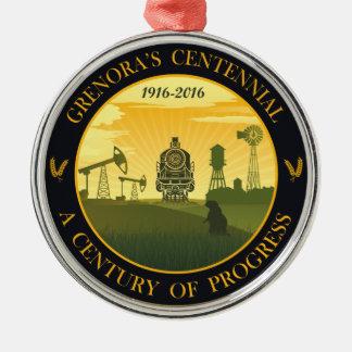 Premium Grenora Centennial Ornament