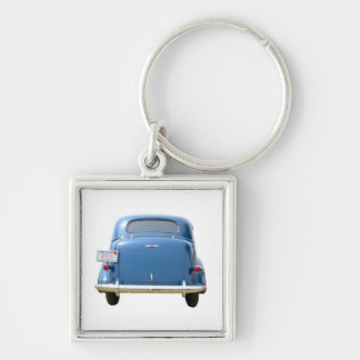 Premium Key Chain -Vintage Blue Chevy Father's Day