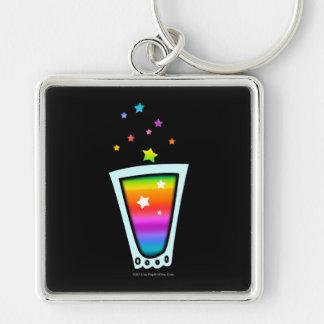 PREMIUM KEYCHAIN - RAINBOW SHOT GLASS
