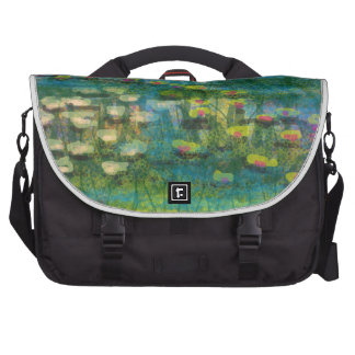 """Premium """"Lilies on the Water"""" design Computer Bag"""