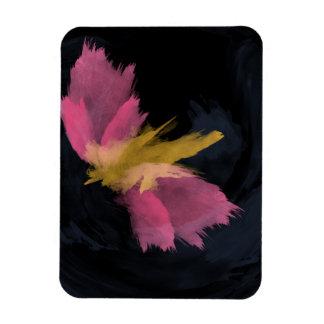 Premium Magnet, Midnight Flight Watercolor Magnet